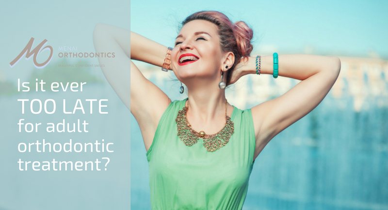 Is it ever too late for adult orthodontic treatment? 5 facts you should know