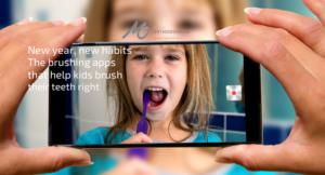 Brushing apps for kids